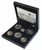 2009 6 x Coin Silver Proof Family Collection
